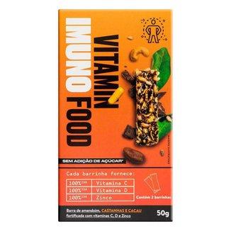 Vitaminfood Imuno Barra Castanhas de Cacau (2uni) - Pinati