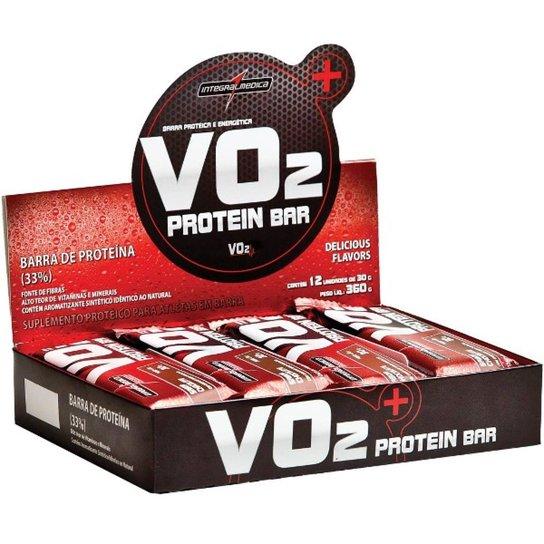VO2 Protein Bar c/ 24 Barras - IntegralMédica -
