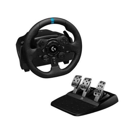 Volante Gamer PS4 PS5 PC Logitech G - Preto