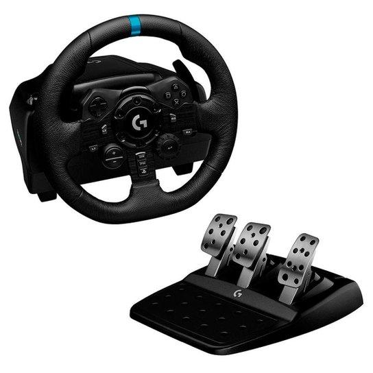 Volante Logitech G923 Racing Wheel  XBOX Force Feedback TRUEFORCE - Acabamento em Couro - 941-000157 - Única