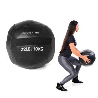 Wall Ball Crossfit Funcional 10kg Natural Fitness