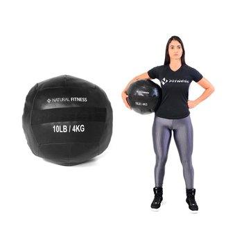 Wall Ball Crossfit Funcional 4kg Natural Fitness