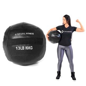 Wall Ball Crossfit Funcional 6kg Natural Fitness