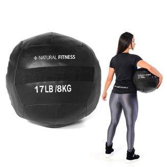Wall Ball Crossfit Funcional 8kg Natural Fitness