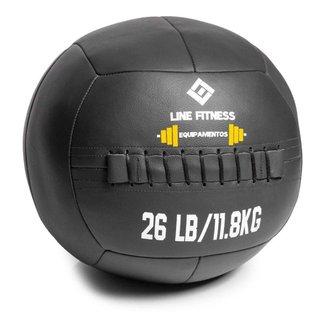 Wall Ball Em Couro 12kg