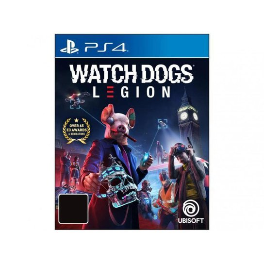 Watch Dogs Legion para PS4 Ubisoft - Azul