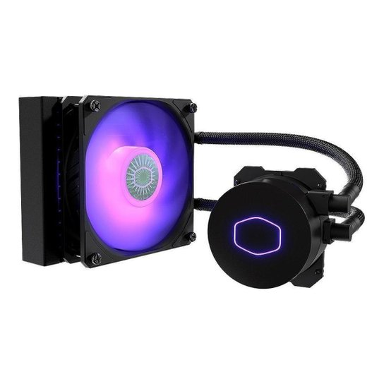 Water Cooler Cooler Master Masterliquid ML120L V2 RGB, MLW-D12M-A18PC-R2 - Preto