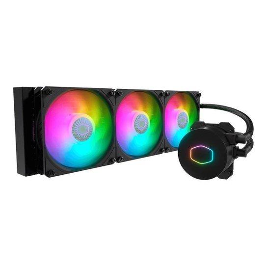 Water Cooler Cooler Master Masterliquid ML360L V2 ARGB, MLW-D36M-A18PA-R2 - Preto