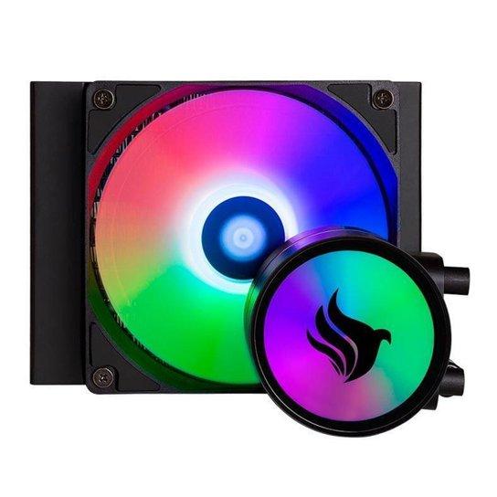 Water Cooler Pichau Gaming Aqua X110 RGB, PG-AQX110-RBL01 - Preto