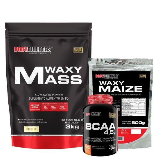 Waxy mass 3kg+Waxy Maize 800g+Bcaa 4,5 100g - Bodybuilders -