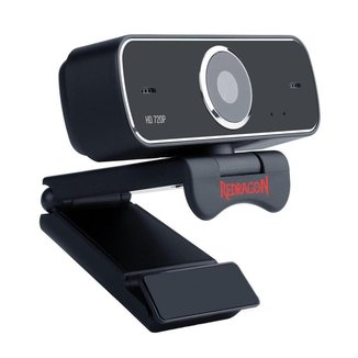 Webcam Gamer Redragon Streaming Fobos GW600 HD 720p