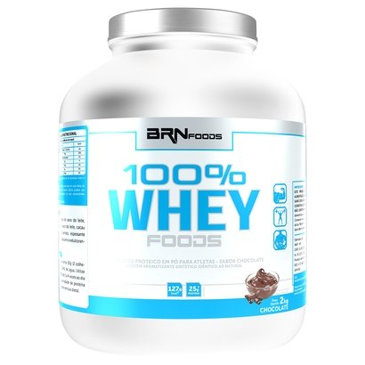 Whey 100% Foods 2 Kg - BR Nutrition Foods