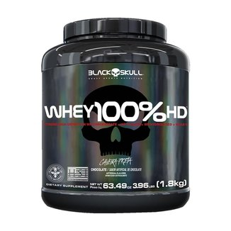 WHEY 100% HD 1,8KG - BLACK SKULL (CHOCOLATE)