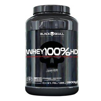 Whey 100% HD 900g - Black Skull
