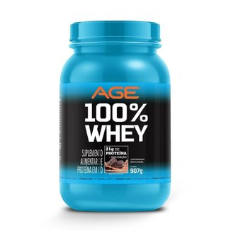 Whey 100% Pure (907G) - Age