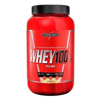 Whey 100% Pure 907g - Integralmedica - Cookies Cream