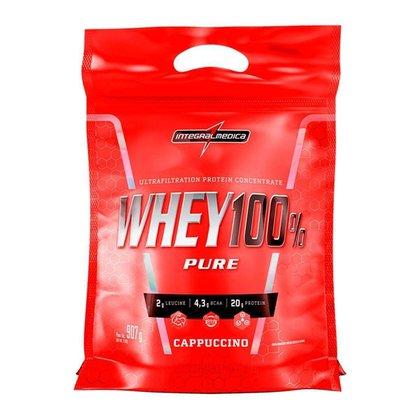 Whey 100% Pure 907g Refil Integralmedica