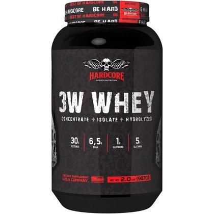 Whey 3w - Isolado, Hidrolisado e Concentrado - 907g Baunilha - Hardcore Sports Nutrition
