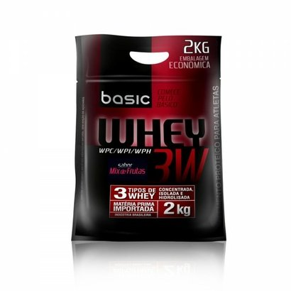 Whey 3W – Sacola 2Kg – Pronutrition Basic