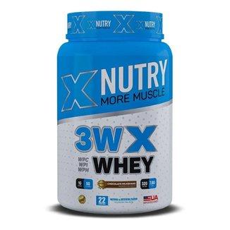 Whey 3W X Nutry Gourmet Premium 900g Importado USA