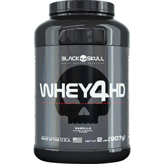 Whey 4HD 907 g - Black Skull -