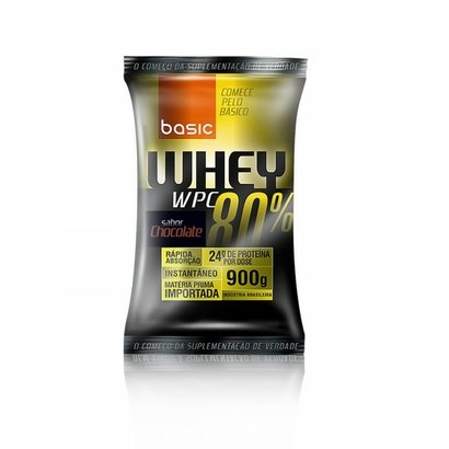 Whey 80% Concentrado - Sachê 900g - Pronutrition Basic