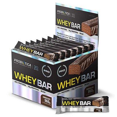 Whey Bar c/ 24 unidades – Probiótica