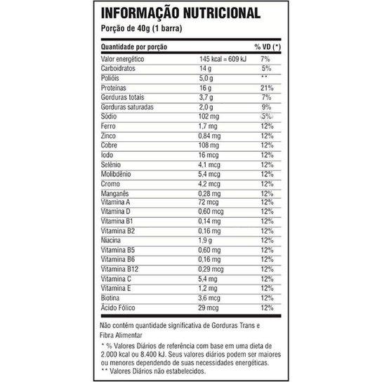 Whey Bar cx c/ 24 unidades - Probiótica -