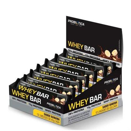 Whey Bar Display 12Unid - Probiótica