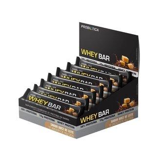 Whey Bar Doce De Leite Display 480 G (12 Unidades De 40g)