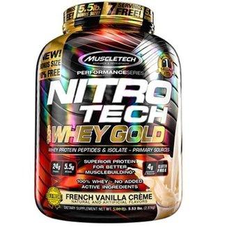 Whey Gold Nitro Tech - 2510g French Vanilla Creme - Muscletech