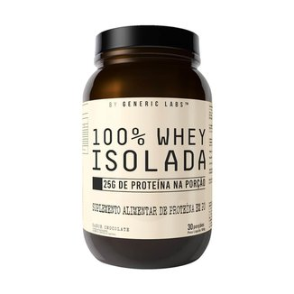 Whey Isolate (900G) - Generic Labs