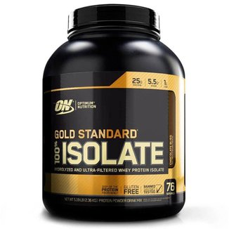 Whey Isolate Gold Standard - 5LB - Optimum Nutrition  - Chocolate Bliss