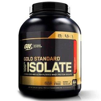 Whey Isolate Gold Standard - 5LB - Optimum Nutrition  - Rich Vanilla