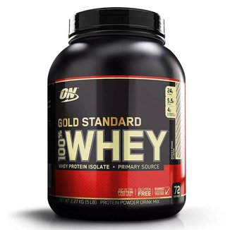 Whey Protein 100% Gold Standard - 2270g Rocky Road - Optimum Nutrition