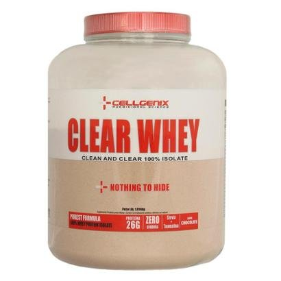 Whey Protein 100% Isolate Clear 1,81kg Cellgenix