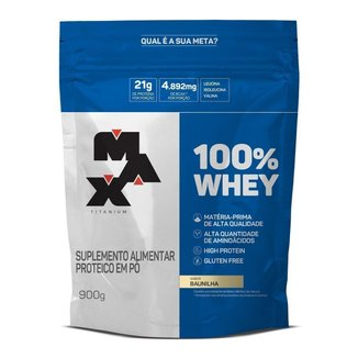 Whey Protein 100% Max Titanium