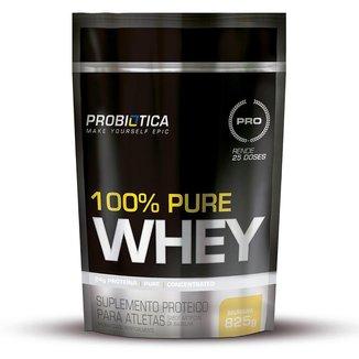 Whey Protein 100% Pure Baunilha Probiótica Refil - 825g