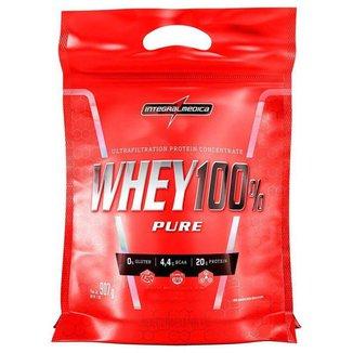 Whey Protein 100% Pure Refil 907g Integralmedica