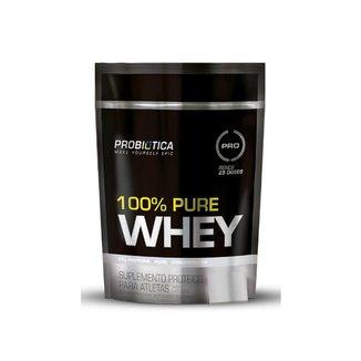 Whey Protein 100% Pure Whey Refil Pouch Probiótica 825g