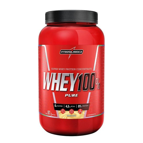 Whey Protein 100% Super Pure 907 g Body Size Pote - IntegralMédica -
