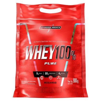 Whey Protein 100% Super Pure 907 g Body Size Refil - IntegralMédica