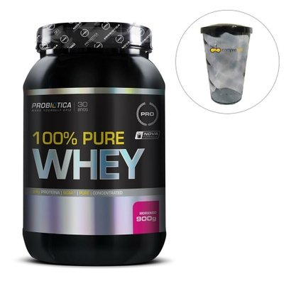 Whey Protein 100%Pure ProbióticaPro + Shakeira700ml