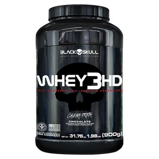 Whey Protein 3 HD Black Skull - 900g