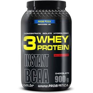Whey Protein 3W 900 g - Probiótica