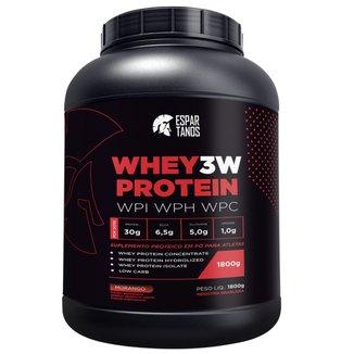 Whey Protein 3W  Espartanos - 1,8Kg