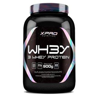Whey Protein 3W Hidrolisado Isolado Concentrado 900G - XPRO Nutrition