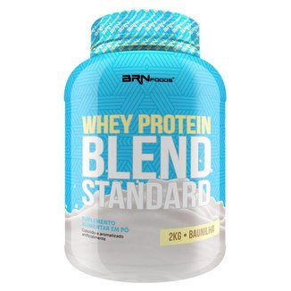 WHEY PROTEIN BLEND STANDARD 2KG BR NUTRITION FOODS