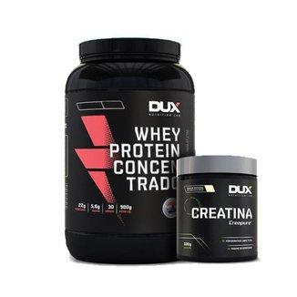 Whey Protein Concentrado Banana + Creatina - Dux