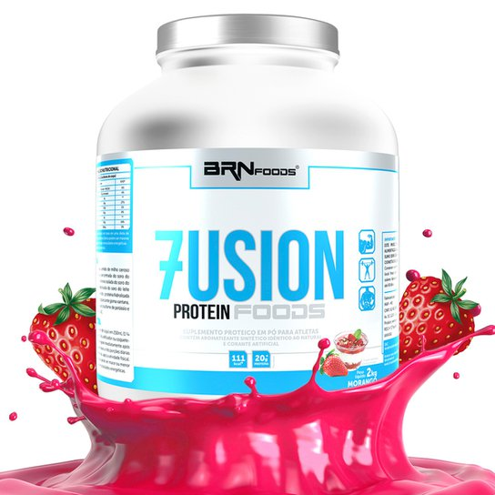 Whey Protein Concentrado Fusion Protein Foods 2kg - BRN Foods -
